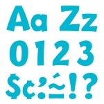 (3 Pk) Ready Letters 4in Sky Blue Playful Combo
