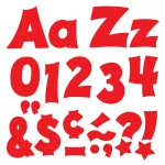(3 Pk) Ready Letters 4in Red Uppercase Lowercase Combo
