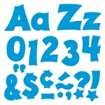 (3 Pk) Ready Letters 4in Blue Uppercase Lowercase Combo