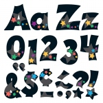 (3 Pk) Ready Letters 4in Stargazer Uppercase Lowercase Combo