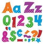 (3 Pk) Ready Letters 4in Snazzy Uppercase Lowercase Combo