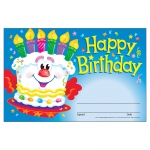 (12 Pk) Awards Happy Birthday Cake