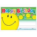 (12 Pk) Awards Happy Birthday Smile