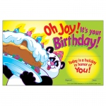 (12 Pk) Oh Joy Its Your Birthday 30 Per Pk 5x8 Awards