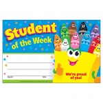 (12 Pk) Awards Student Of The Week Crayons