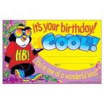 (12 Pk) Awards Its Your Birthday Cool 30 Per Pk 5x8