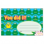 (12 Pk) Awards You Did It Frogs 30 Per Pk