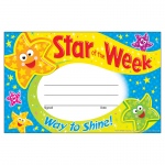 (12 Pk) Star Of The Week Way To Shine Recognition Awards