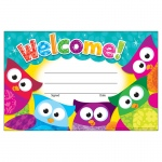 (12 Pk) Welcome Owl Stars Recognition Awards
