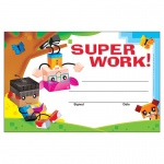 (12 Pk) Super Work Blockstars Recognition Awards