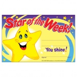 (12 Pk) Awards Star Of The Week 30 Per Pk 5x8