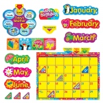 (2 St) Wipe Off Stars N Swirls Calendar Cling Bb Set