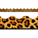 (12 Pk) Leopard Terrific Trimmers Scalloped
