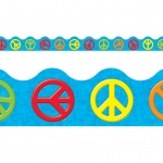 (12 Pk) Peace Signs Terrific Trimmers