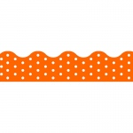 (12 Pk) Polka Dots Orange Terrific Trimmers
