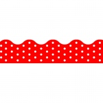 (12 Pk) Polka Dots Red Terrific Trimmers