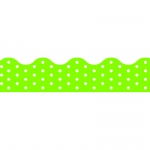(12 Pk) Polka Dots Lime Terrific Trimmers