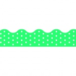 (12 Pk) Polka Dots Teal Terrific Trimmers