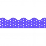 (12 Pk) Polka Dots Purple Terrific Trimmers