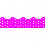 (12 Pk) Polka Dots Pink Terrific Trimmers