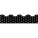 (12 Pk) Polka Dots Black Terrific Trimmers