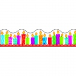 (12 Pk) Birthday Candles Terrific Trimmers