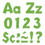 (3 Pk) 4in Ready Letters Lime Sparkle