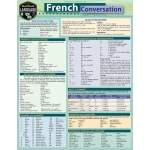 BarCharts French Conversation Quick Study Guide