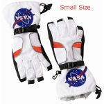 Aeromax Astronaut Gloves: White, Small Size