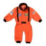 Aeromax Junior Astronaut Suit: Orange, Size 6 to 12 Months