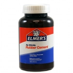 (3 Ea) Rubber Cement Can 16oz