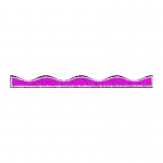 (6 Pk) Magenta Scribble Chalk Border