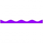(3 Pk) Big Magnetic Border Purple