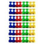 (6 Pk) Kaleidoscope Magnets Small 8 Per Pk