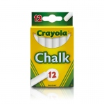 (36 Bx) 12 Sticks Per Bx - Tuck Box White Chalk