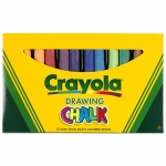 (6 Bx) Crayola Colored Drawing Chalk Asst