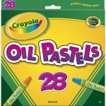 (6 Bx) Crayola Oil Pastels 28 Color Set