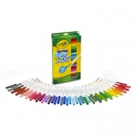(2 Pk) Washable Markers 50ct Per Pk Super Tips W/silly Scents