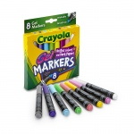 (4 Bx) Crayola 8ct Per Bx Gel Fx Washable Markers