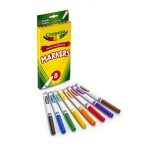 (6 Bx) Original Drawing Markers 8ct Per Bx Color Fine Tip