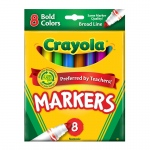 (6 Bx) Coloring Marker Bold Conical 8ct Per Bx
