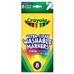 (6 Bx) Washable Drawing Marker 8ct Per Bx Colors