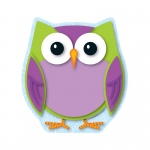 (6 Ea) Colorful Owl Note Pad