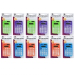 (12 Ea) Primary Calculator 8 Digit Display