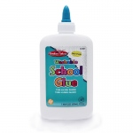 (12 Ea) Economy Washable School Glue 8 Oz