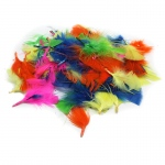 (12 Pk) Turkey Feathers Hot Colors 14g Per Bag
