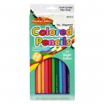 (12 St) Presharpened 7in Colored Pencils 12 Per Bx