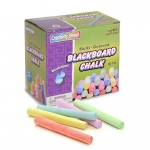 (12 Bx) Blackboard Chalk 60 Per Bx Multi Color