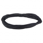 (6 Ea) Black Leather Cord