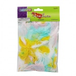 (12 Pk) Feathers Spring Colors